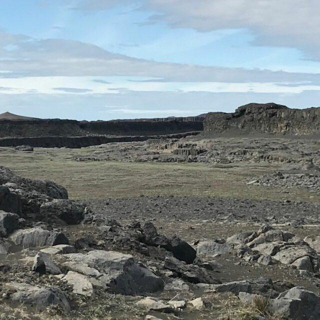 Iceland Rocky Landscape
